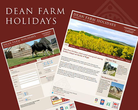 Dean Farm website