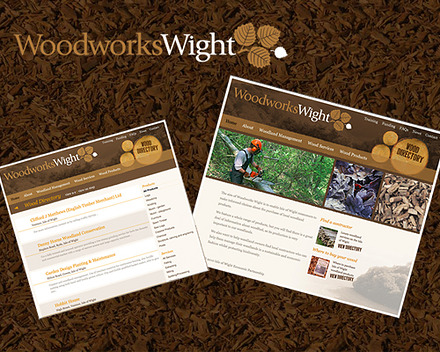 Woodworks Wight website banner