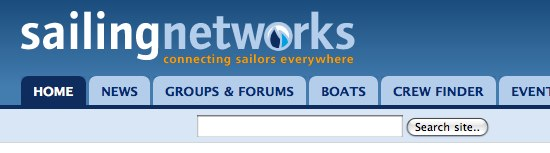 Sailing Networks new navigation one