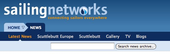 Sailing Networks new navigation two