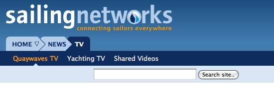 Sailing Networks new navigation three